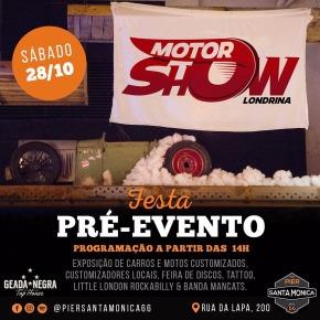 Sábado tem pré-evento do Motor ShowLondrina