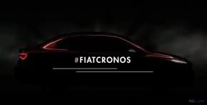 Fiat revela primeiras imagens doCronos