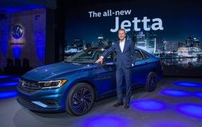 Novo Jetta debuta no Salão de Detroit2018