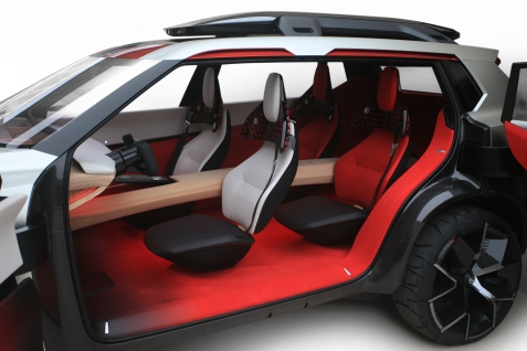 "Making its world debut at the 2018 North American International Auto Show in Detroit, the six-passenger, three-row Nissan Xmotion (pronounced ""cross motion"") concept fuses Japanese culture and traditional craftsmanship with American-style utility and new-generation Nissan Intelligent Mobility technology."