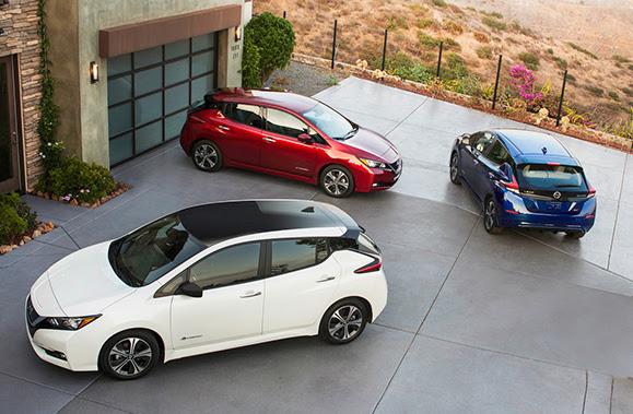2018 Nissan LEAF -  U.S. market